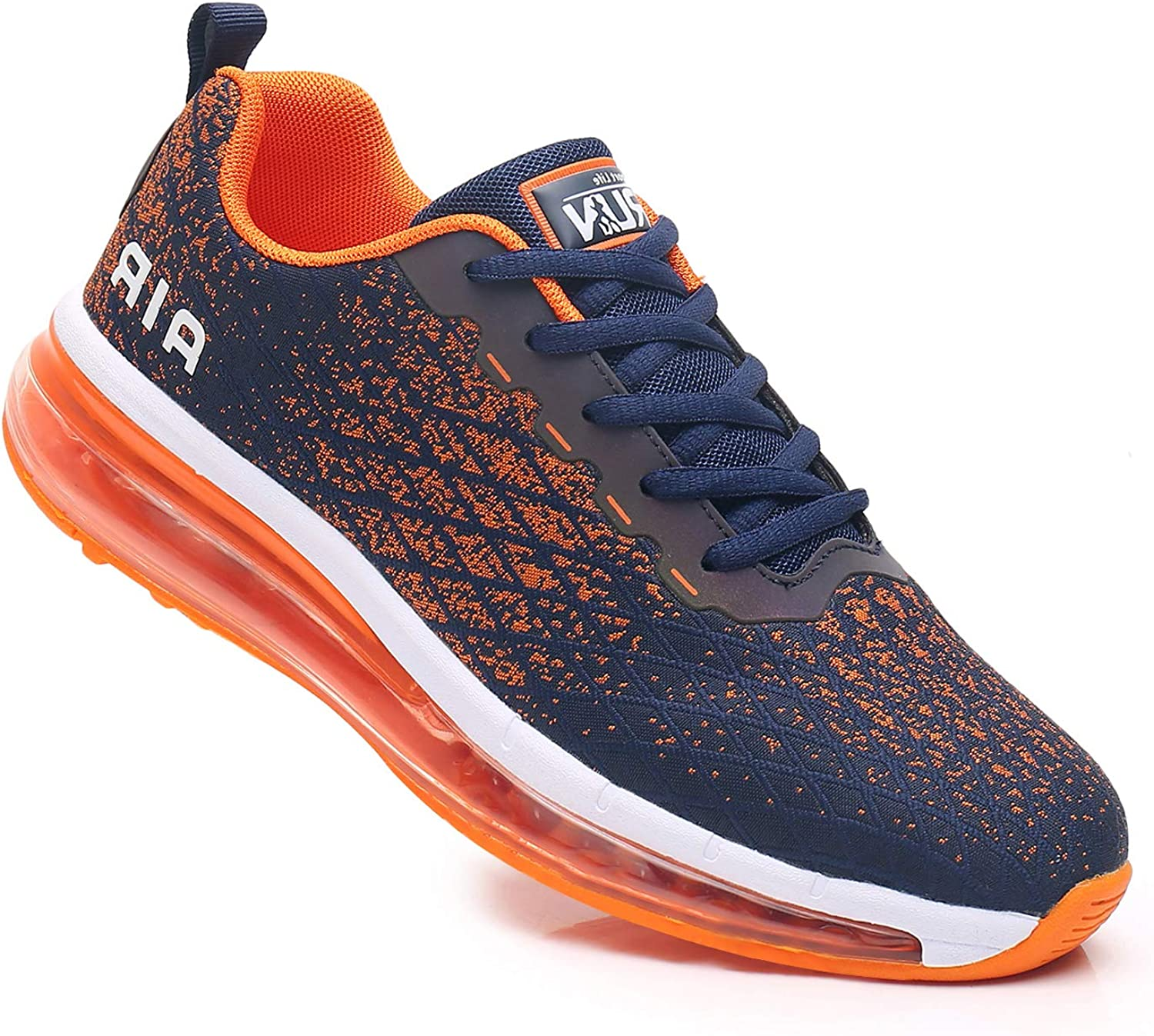 Axcone Mens Tennis Shoes Athletic Running Gym Jogging Air Cushion Workout Sneakers US7-US13