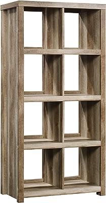 Sauder HomePlus 8-Cube Bookcase, Lintel Oak finish