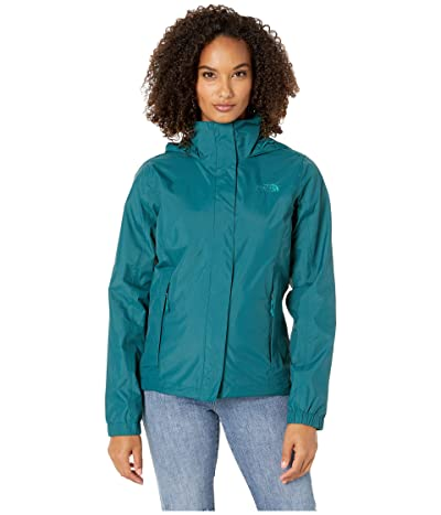 The North Face Resolve 2 Jacket (Deep Teal Blue) Women