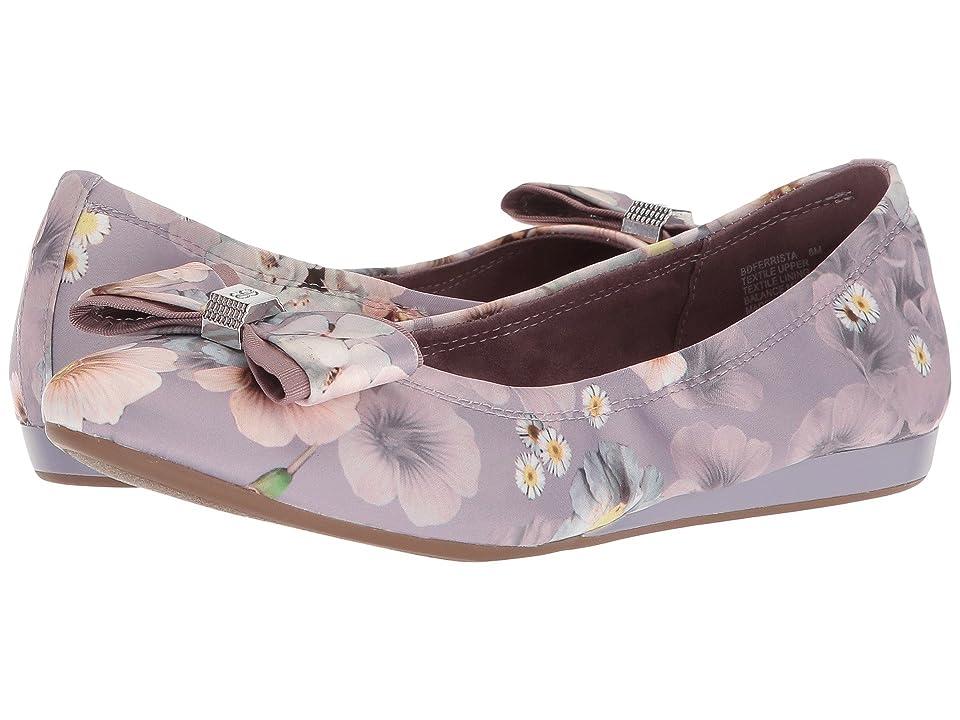 Bandolino Ferrista (Lilac Enchanted Floal Matte Satin) Women