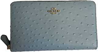 Coach Women's Full Zip Around Continental Wallet