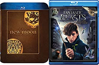 Fantastic Twilight Beasts Blu Ray Double Feature Where to Find Them / Twilight New Moon Steelbook & Fantastic Beasts