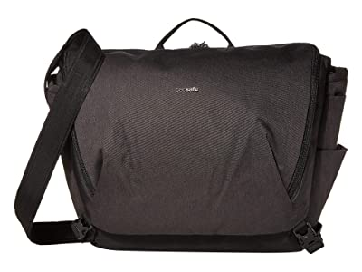 Pacsafe 13 Intasafe X Laptop Anti-Theft Messenger Bag (Black) Handbags