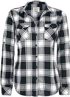 ce99d1218275 Amazon.es: cuadros blanco y negro - Camisetas, tops y blusas / Mujer ...