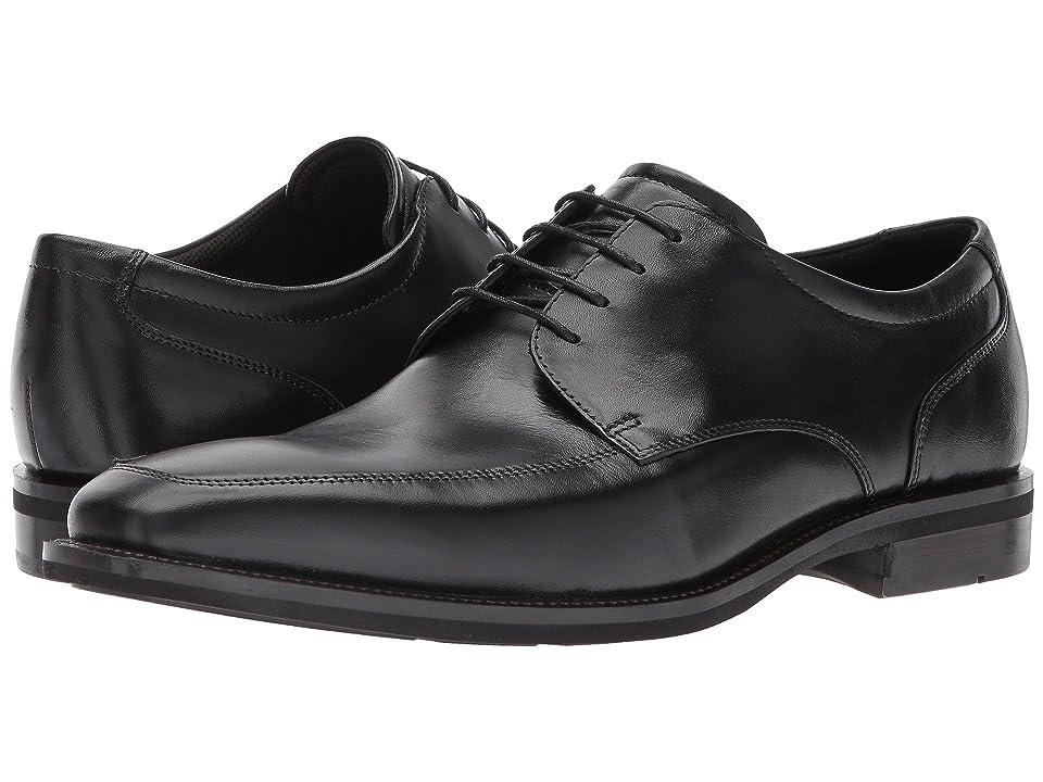 ECCO Faro Apron Toe Tie (Black) Men