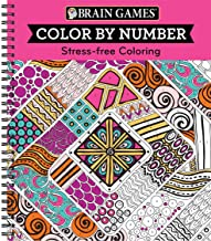 Brain Games – Color by Number: Stress-Free Coloring (Pink) PDF