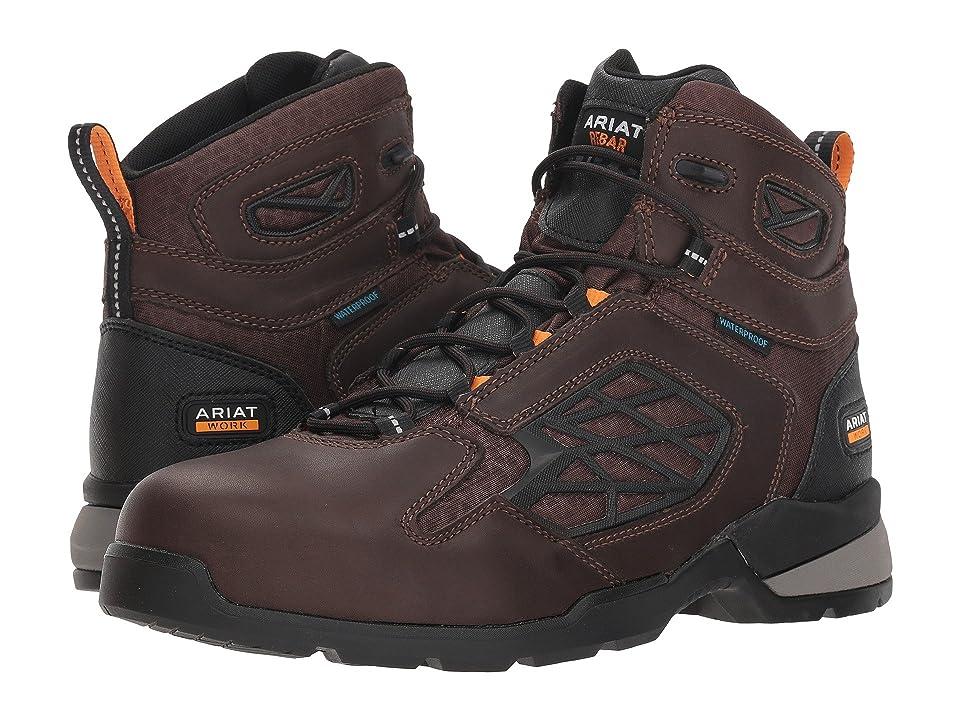 Ariat Rebar Flex 6 H2O Composite Toe (Dark Brown) Men