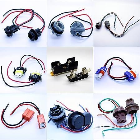 Led Mafia Lampenfassung T5 T10 Hb3 Hb4 H7 H8 H11 7440 7443 Fassung Stecker Kabel Soffittenhalterung 30 43mm Auto