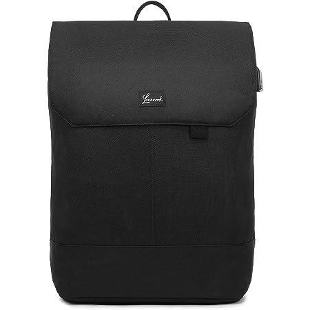 LOVEVOOK Rucksack Damen Elegant Daypack Wasserdichter Tagesrucksack mit Laptopfach 15,6 Zoll & Anti Diebstahl Tasche für Ausflüge, Uni, Schule u. Büro