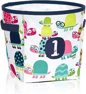 Thirty One Mini Storage Bin in Topsy Turtles - No Monogram - 8639