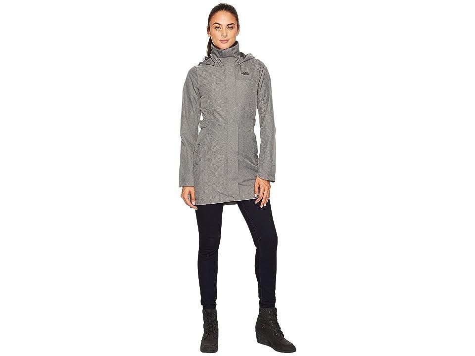The North Face Laney Trench II (TNF Medium Grey Heather) Women's Coat