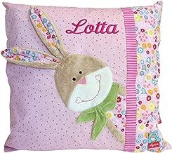 Babykissen Rainbow Rabbit mit Namen beschriftet Sigikid 40991