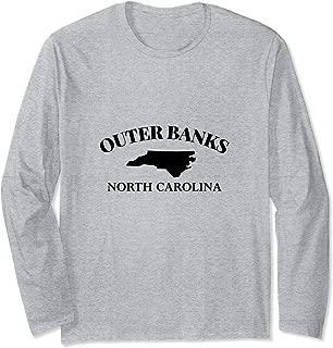 Outer Banks OBX NC North Carolina Beach Trip Souvenir Gift Long Sleeve T-Shirt
