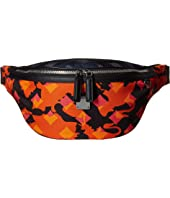 MCM - Dieter Munich Lion Camo Nylon Belt Bag Medium