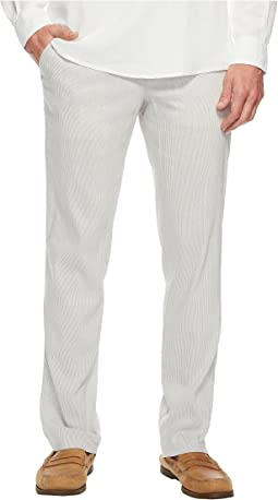 Perry Ellis - Slim Fit Linen Chino