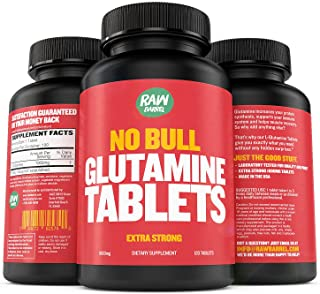 Sponsored Ad - Glutamine Tablets - Pure, Non GMO, with Natural Ingredients, Soy and Caffeine Free - 120 L-Glutamine Pills ...