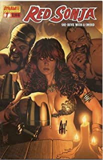 Red Sonja She-Devil With A Sword #7 Autographed By Adam Hughes