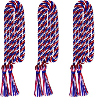 Norme 3 Pieces Graduation Cords Grad Days Honor Cords Graduation Tassel Accessory for High School College Graduation (Color1)