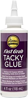Aleene's 18338 Fast Grab Tacky Glue, 118mL