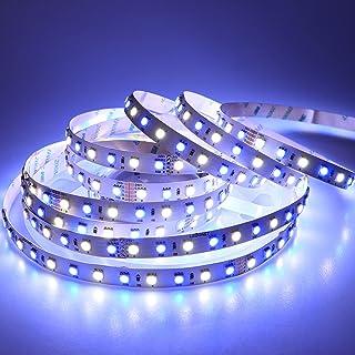 LEDENET LED Light Strip Super Bright RGBW RGB White Flexible 5M 360 LEDs one reel 5050 SMD Ribbon Lamps 24V Non-waterproof...