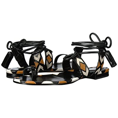 Etro Ankle Wrap Sandal (Brown) Women