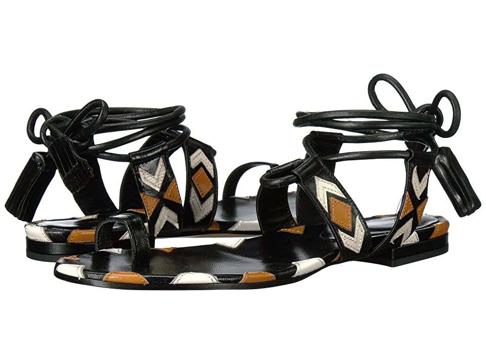 Etro Ankle Wrap Sandal (Brown) Women