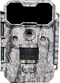 Alpha Cam Hunting Trail Camera 20MP 1080p 30fps Waterproof Scouting Cam with Ultra Fast Trigger Speed and Recovery Rate 2.4