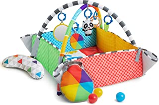 Baby Einstein Patch's 5-in-1 Color Playspace Activity Play Gym & Ball Pit Ages Newborn + , Patch the Panda