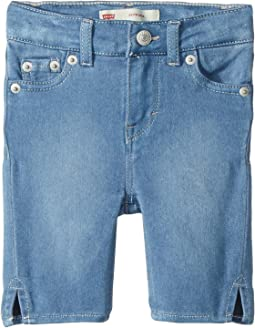 Levi's® Kids 710™ Super Skinny Fit Soft and Silky Bermuda Shorts (Toddler)