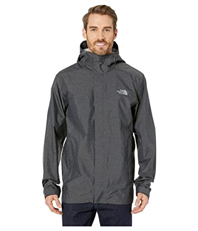The North Face Venture 2 Jacket Tall (TNF Dark Grey Heather/TNF Dark Grey Heather/Mid Grey) Men