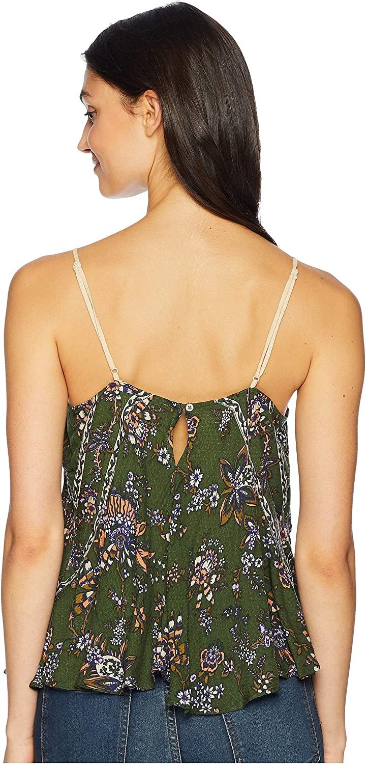 Intimately Free People Womens Sweet Talk Floral Sleeveless Camisole Top