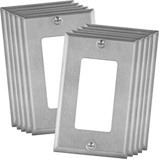 Amazon Com Stainless Steel Wall Plates Wall Plates Accessories Tools Home Improvement