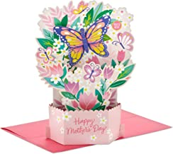 Hallmark Paper Wonder Mothers Day Pop Up Card with Sound and Motion (Butterfly Garden)