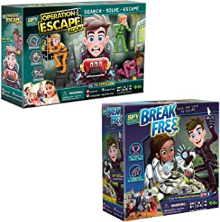 Spy Code Operation Escape Room And Break Free Board Game Bundle