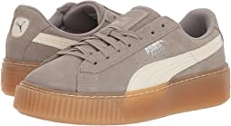 Suede Platform Sneaker Jr (Big Kid)