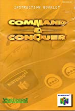 Command & Conquer N64 Instruction Booklet (Nintendo 64 Manual Only) (Nintendo 64 Manual)