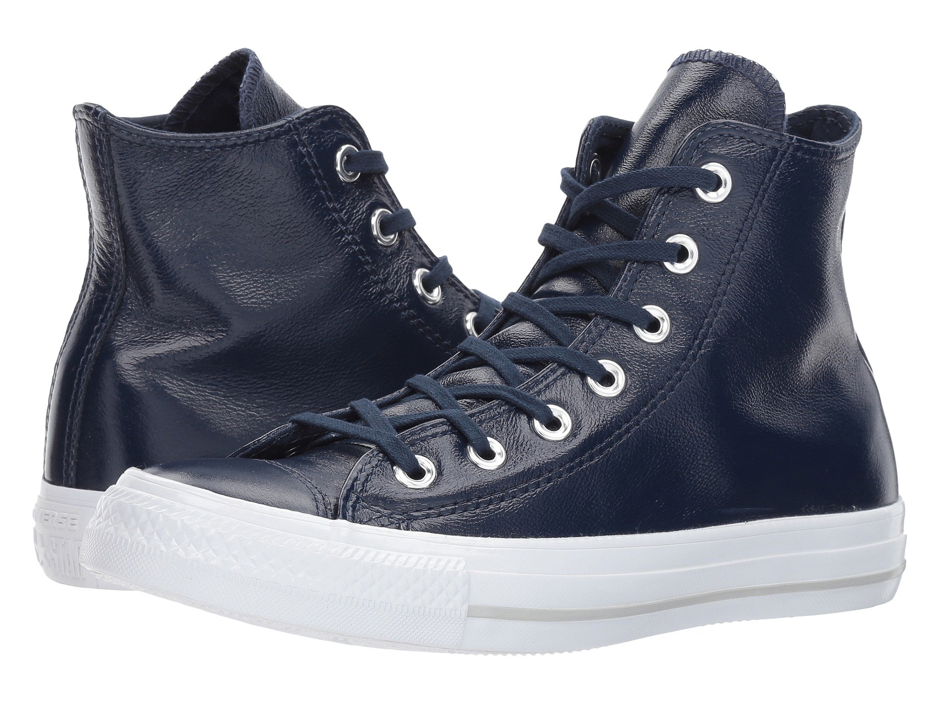250b9417f209f6 CONVERSE CHUCK TAYLOR® ALL STAR® CRINKLED PATENT LEATHER HI ...