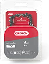 Oregon S59 AdvanceCut 16-Inch Semi Chisel Chainsaw Chain, Fits Homelite
