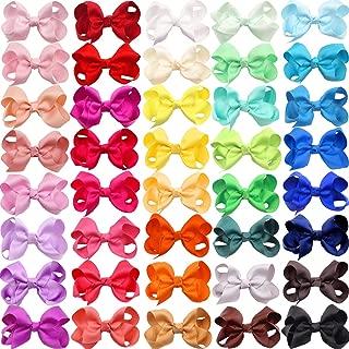 JOYOYO 40 Colors Boutique Grosgrain Ribbon Pinwheel 3