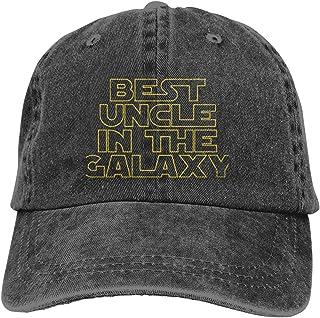 Unisex,I'm A Happy Camper,Cowboy Hat Sports Baseball Caps Adjustable Classic Cotton Adult Hats for Mens Women Black