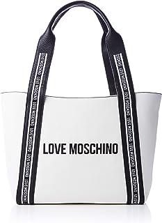 حقيبة بشعار لوف موسكينو على الحزام