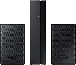 Samsung 2 Channel Wireless Rear Speakers, Black (Renewed)