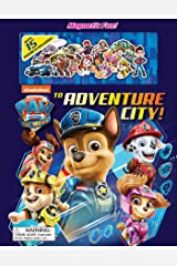 Nickelodeon Paw Patrol: The Movie: To Adventure City! (Magnetic Hardcover) Board book