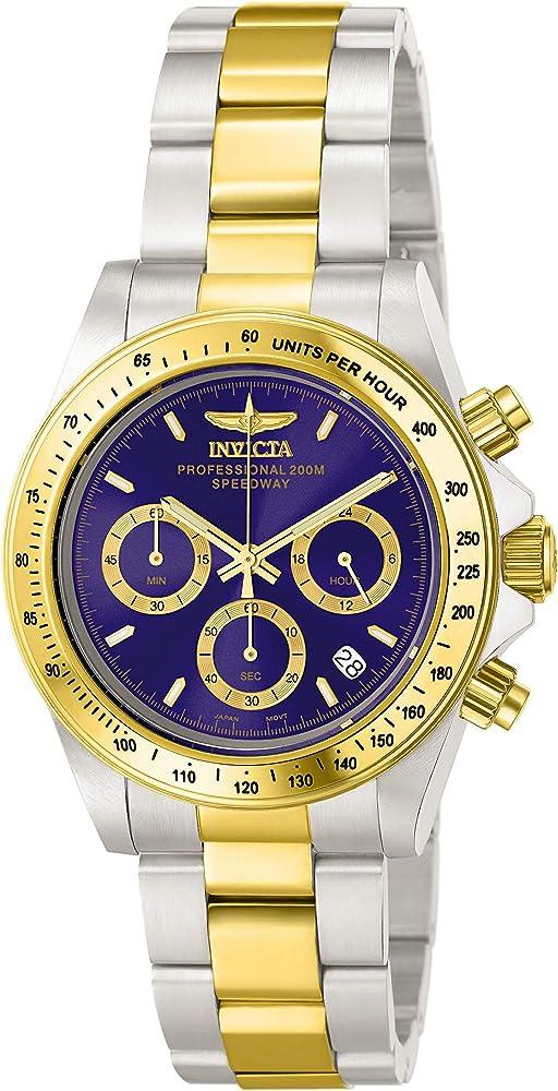 Invicta speedway orologio  uomo acciaio inossidabile INVICTA-3644
