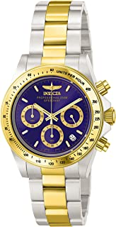 Invicta Mens Quartz Watch, Analog Display and Stainless Steel Strap 3644