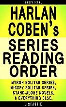 Harlan Coben Series Reading Order: Series List - In Order: Myron Bolitar series, Mickey Bolitar series (Listastik Series Reading Order Book 19)