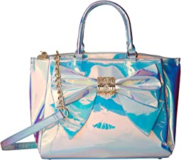 Betsey Johnson - Iridescent Bow Satchel