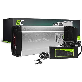 GC® Bateria Bicicleta Electrica 36V 12Ah Rear Rack Li-Ion Ebike ...