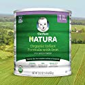 Gerber Natura Organic Infant Formula with Iron, Prebiotics, DHA, Vitamins A&E, 23.2 ounce