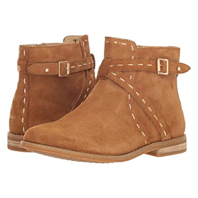 Hush Puppies Chardon Belt Boot (Camel Suede) Women